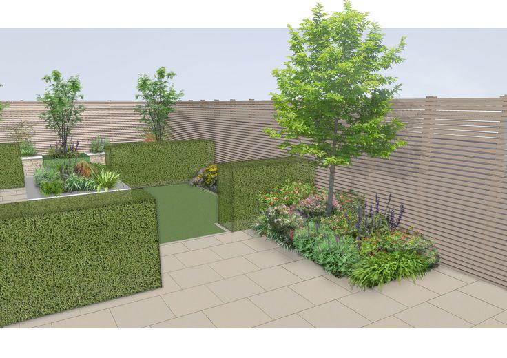 Garden design for familygarden in ranelagh www for Landscape architect ireland