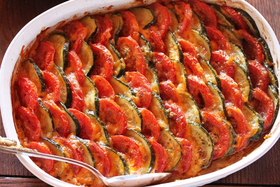 Cook & Be Merry - Tomato & Zucchini Tian RECIPE