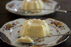 Gelatina de limão e iogurte