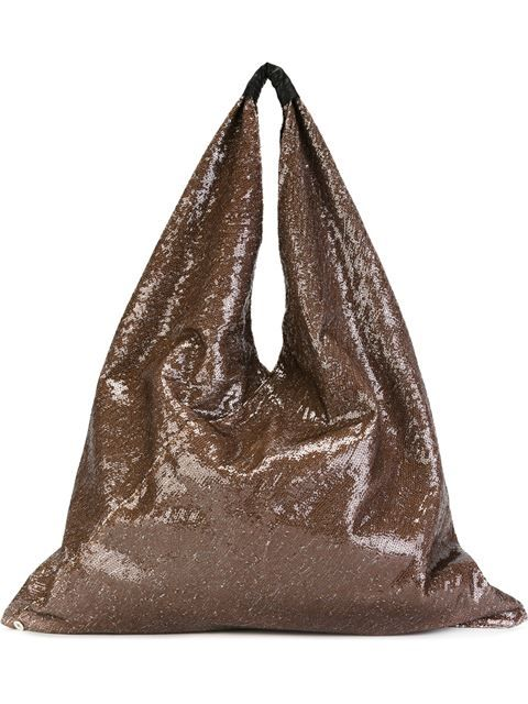 Mm6 Maison Margiela sequinned slouchy tote