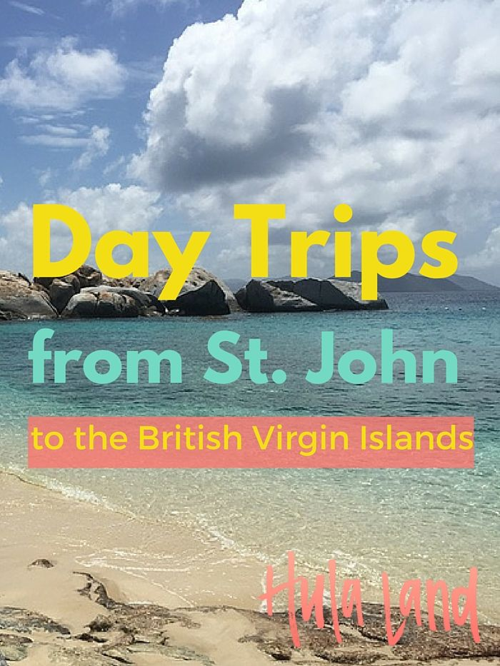 The best day trips from St. John to the BVIs including Virgin Gorda and Jost Van Dyke plus if it's better to go as part of an excursion or on your own