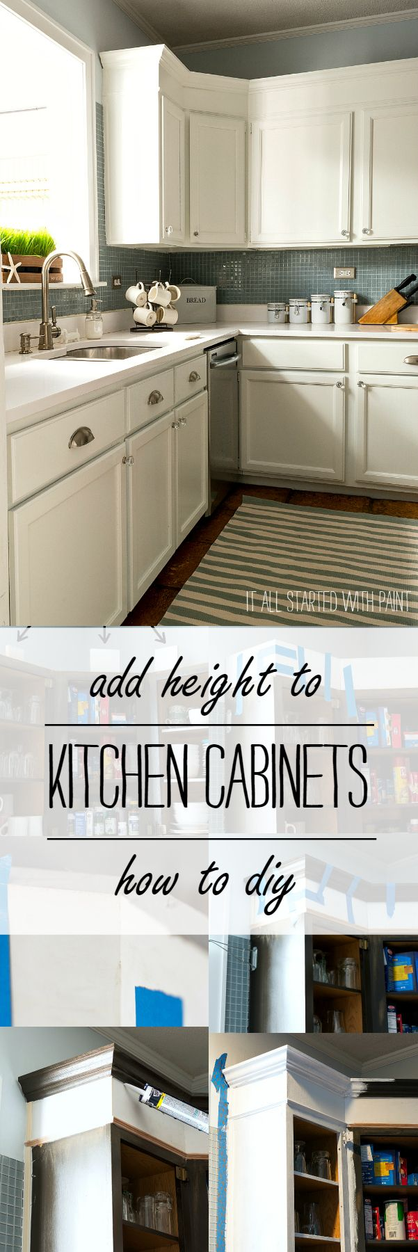 how to add height to kitchen cabinets how to add height to kitchen cabinets power tools tops 16767