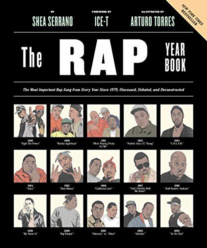 The Rap Year Book: The Most Important Rap Song From Every Year Since 1979, Discussed, Debated, and Deconstructed by Shea Serrano