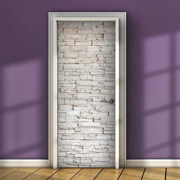 Decorazione Adesiva White Bricks