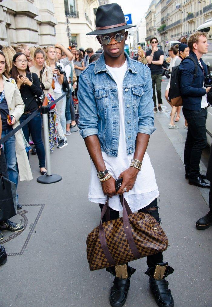 Paris Fashion Week…..Outside John Galliano