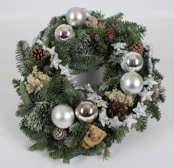 Silver Frost wreath