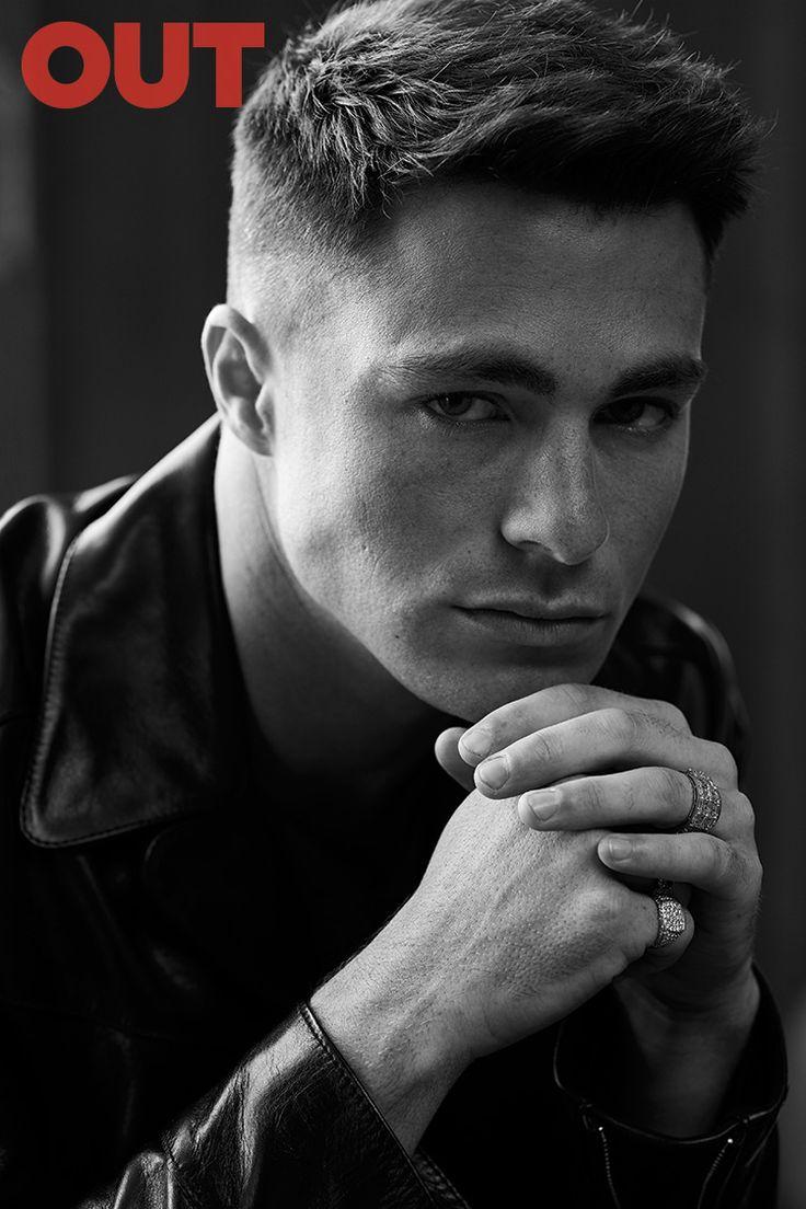 Colton Haynes, actor y modelo declarado abiertamente gay posa para la edición de Septiembre de OUT Magazine