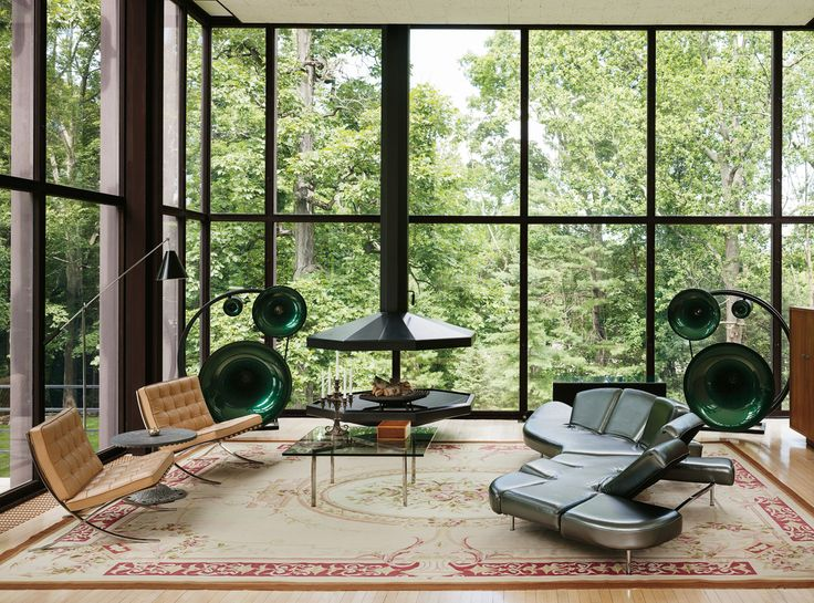 Gallipoli house, New Canaan, CT, by Philip Johnson