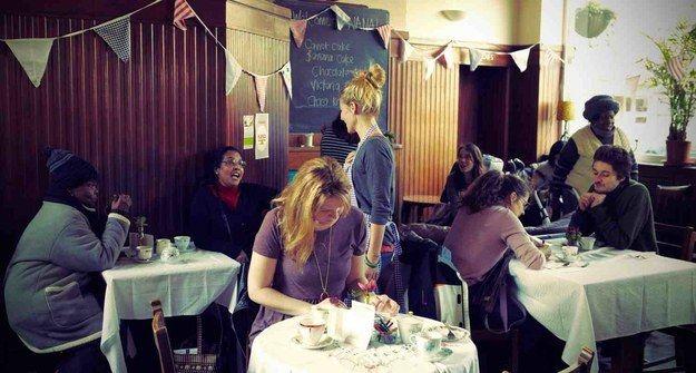 NANA Café | 10 Inspirational Community Cafes In London