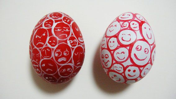 application_계란에 그려본 울보와 웃음보