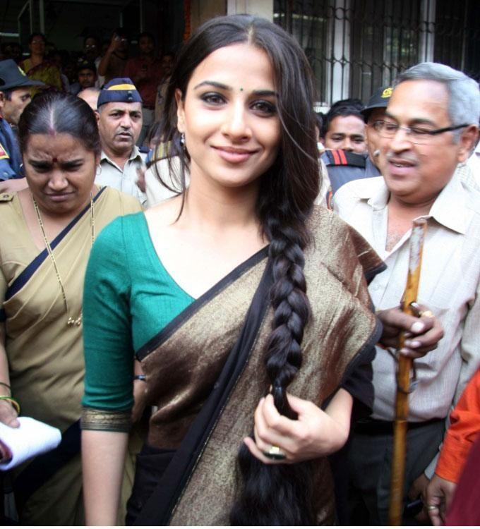 Simple and pretty sari