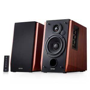 2. Edifier R1700BT Bluetooth Bookshelf Speakers