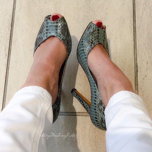 Yesterday's shoes  #ManoloBlahnik