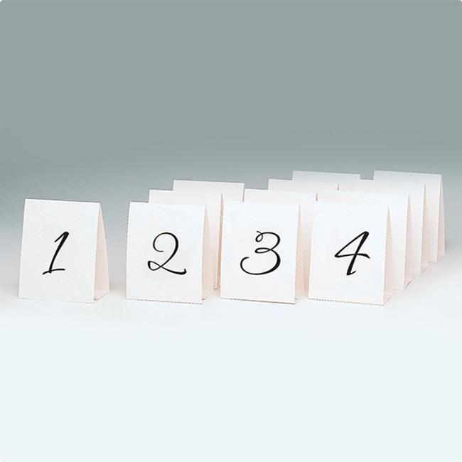 """Tischkarten """"Platznummern 1 - 12"""" 12er Pack #Hochzeitstrend #Farbtrend #Hochzeit2017 #Dekotrend #Trend2017 #rustikal #Farmhaushochzeit #Platzkarten"""