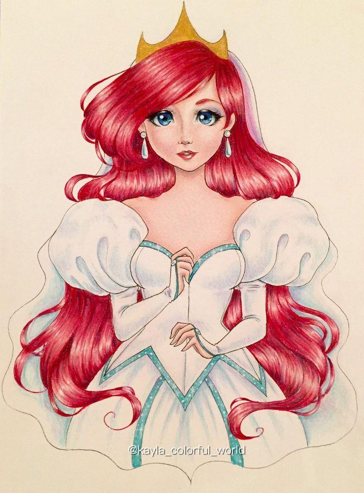 Bride Princess Ariel