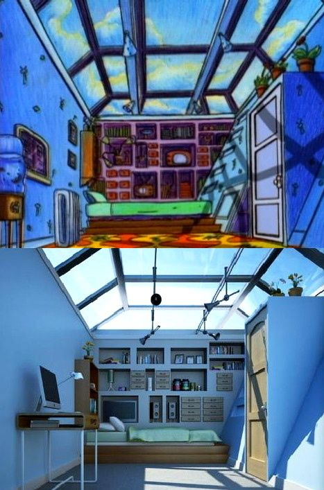 I want a Hey Arnold room lol