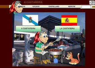 Os peques de Pontesampaio: Xogos do magosto