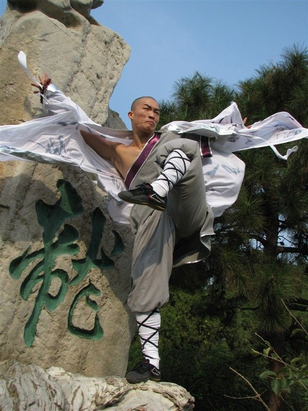 World Martial Arts Shaolin Kungfu Mighty kung fu monks
