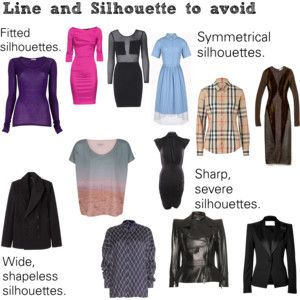 Soft Natural (SN) - Line and silhouette to avoid