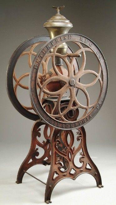 Enterprise No. 218 - Coffee Mill - Patent October 21, 1873 - @~ Watsonette