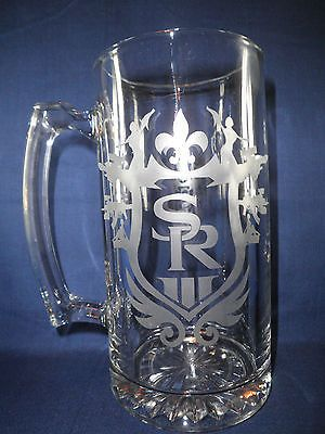 Saints Row 3 Etched Beer Stein-ps3-xbox360,video games, saints row - http://videogameghosts.com/saints-row-3-etched-beer-stein-ps3-xbox360video-games-saints-row/