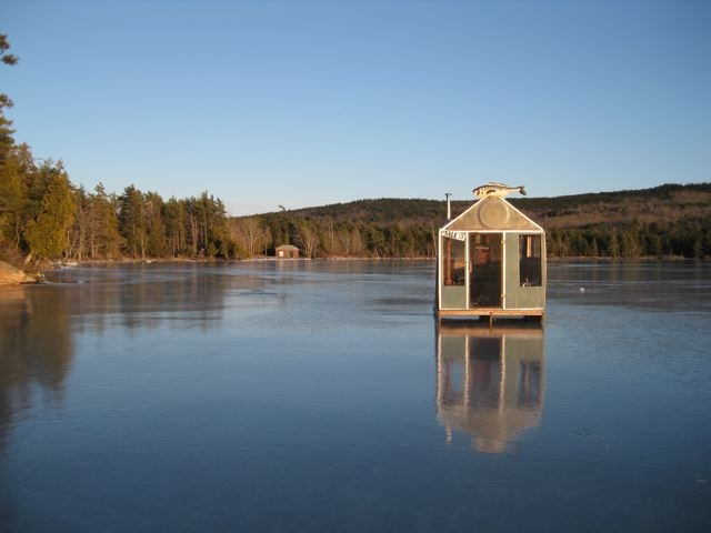 17 best images about ice fishin on pinterest two men for Ice fishing maine