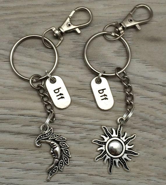 Best Friends keychain Personalized keychain by AlyChrisBoutique
