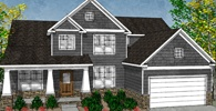 Two Story Custom Floor Plans | Beautiful Craftsman, Colonial, French Country, Mediterranean Houses| Steiner Homes LTD.