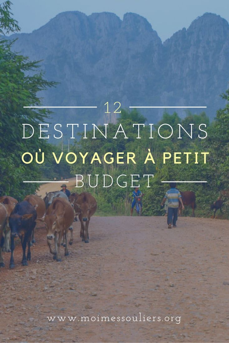 J'ai demandé à d'autres blogueurs qui partent fréquemment de partager leurs destinations de choix avec vous. Personnellement, je répondrais que mon chouchou pour voyager à petit budget est le Cambodge, un pays magnifique où les gens chaleureux et la nourriture délicieuse sont les ingrédients parfaits pour une découverte des plus intéressantes! #destination #budget #voyage #information #guide #blogue #blogueur #découverte #exploration #2017