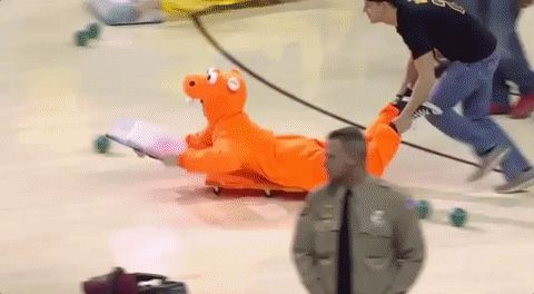 nba cavaliers halftime show hungry hippos human hungry hippos quicken loans arena halftime entertainment #humor #hilarious #funny #lol #rofl #lmao #memes #cute