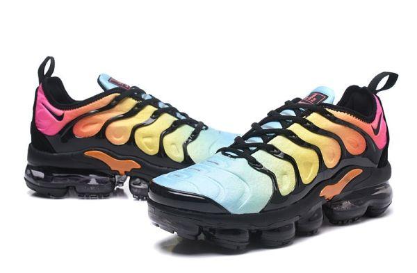 New Nike Air Vapormax 2018 Tn Plus Rainbow Blue Black Women