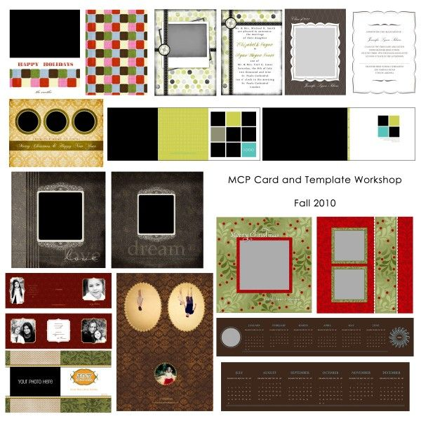 How to Use Cards & Templates: Online Photoshop Class (+ Free Cards/Digital Papers)