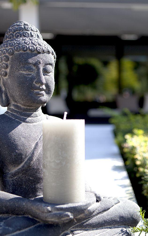 Borobudur Buddha Candle Holder