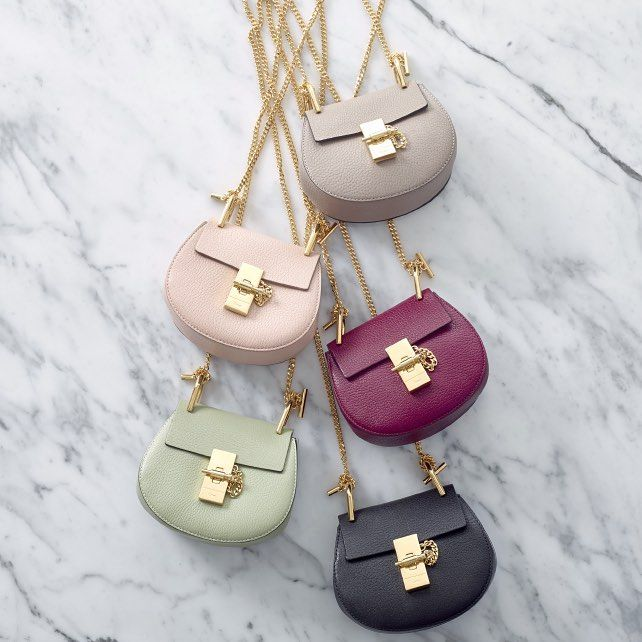 Don't waste a single second: you can now shop @chloe's cuter-than-cute 'Nano Drew' bag