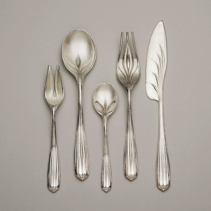 Greg LynnAmerican, born 1964Tableware, 2007 Sterling silverCelia and David Hilliard Fund; restricted gift of the Architecture & Design S...