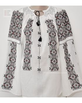 Great Romanian Blouse - embroidered by hand in 3 weeks.