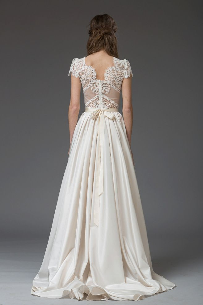 Romantic lace wedding gown by Katya Katya Shehurina | Love My Dress® UK Wedding…