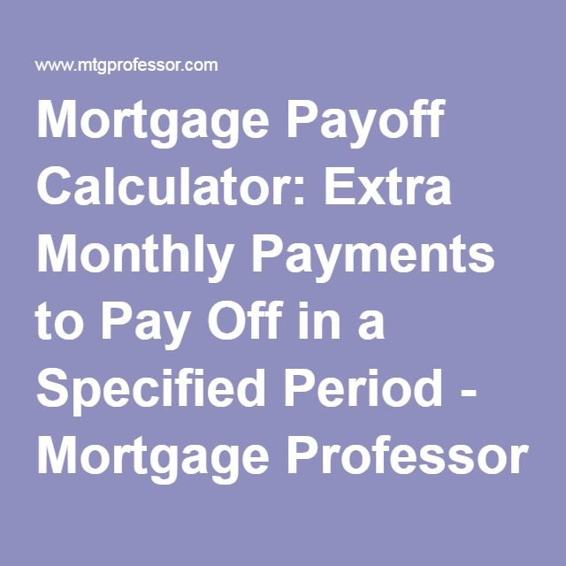 The 727 Best Images About Mortgage Payoff On Pinterest | Mortgage