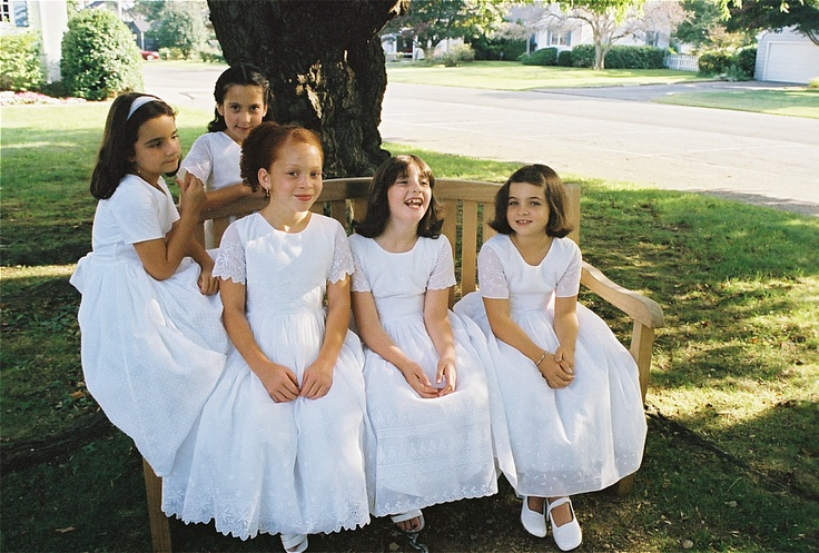 white cotton dresses: White Cotton Dresses, Kids