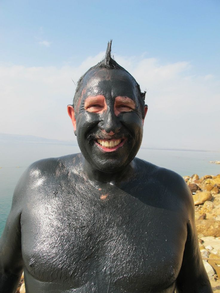 Therapeutic Dead Sea experience … ya cant beat mud …