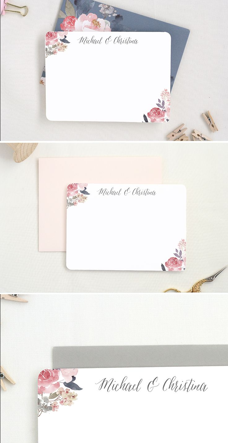 Thank you cards for after your wedding or a shower!