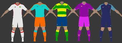 Kits para PES (Pro Evolution Soccer) y Firs Touch Soccer.: Oliver y Benji. Real Style Kits
