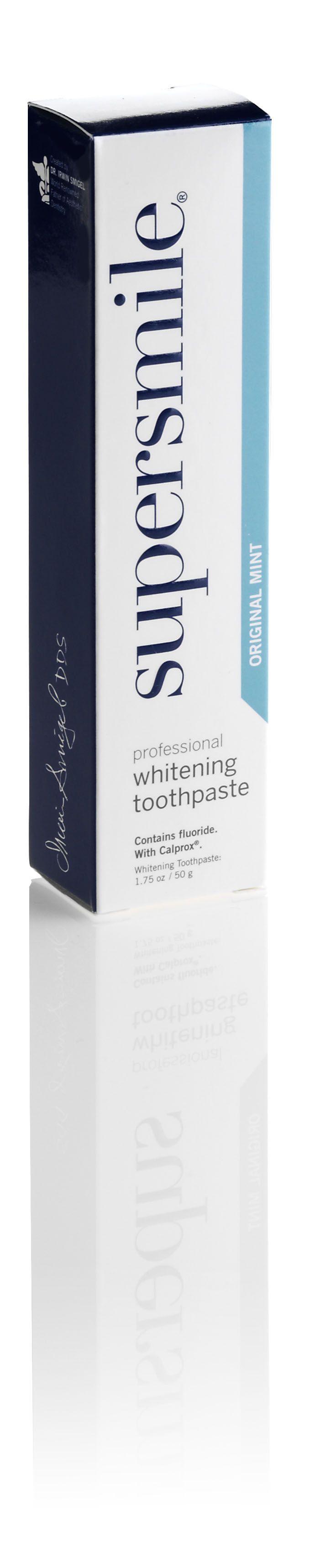Zubní pasta Super Smile pro udržení odstínu