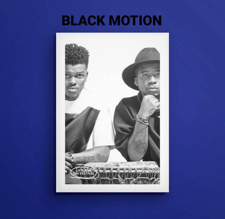 SAMA-award winning Black Motion will be playing at Littlegig 2018 on the Basketball Court Night Stage