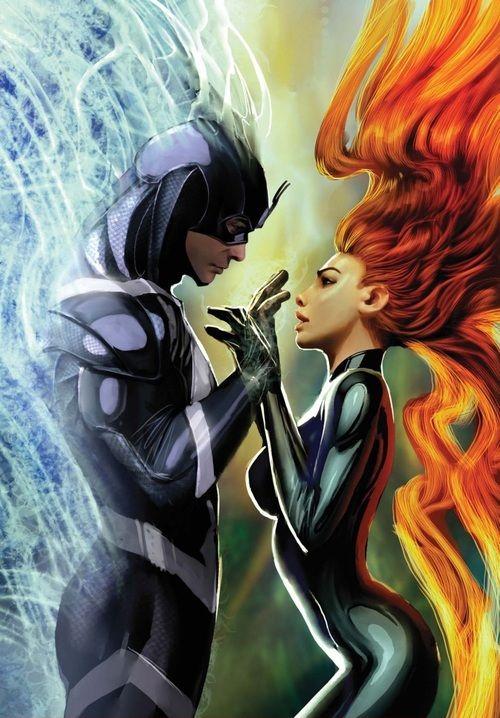 Black #Bolt (Blackagar Boltagon) and #Medusa