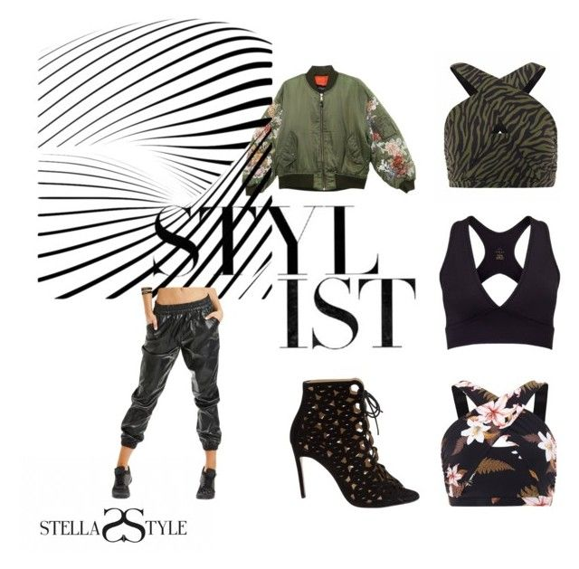 Activewear styled by the stylist by stellasstyle247activewear on Polyvore featuring polyvore, fashion, style, Bionda Castana, L'urv, Brooks and clothing