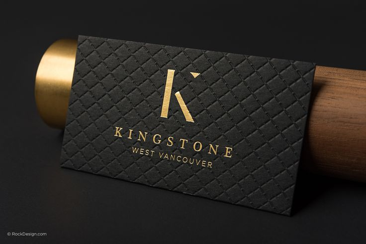 Triplex Business Cards | RockDesign Luxury Business Card Printing