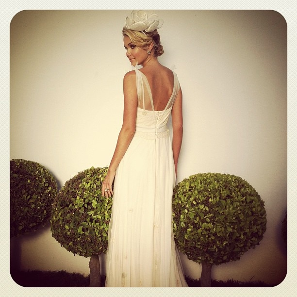 """Dimity EcoBride gown  """"Chantilly Bloom"""". Creative direction by Rubio."""