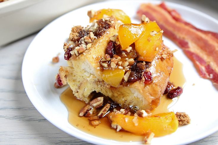Del Monte: Peach French Toast Bake