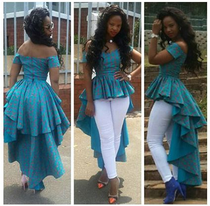 2 layer peplum dress